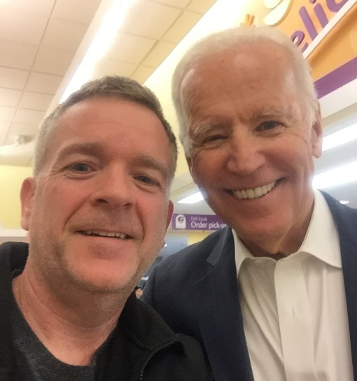 The McLean, VA, Giant Welcomed A Very Special Customer Recently When Former Vice President Joe Biden Stopped In To Buy Groceries To Make Dinner