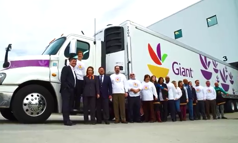 Giant Partnered With Monumental Sports To Support The Capital Area Food Bank And Feed The Hungry This Thanksgiving