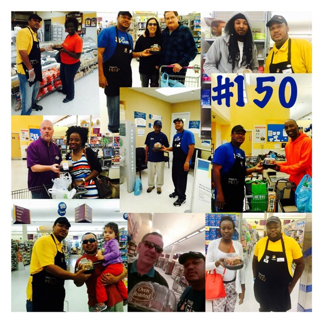 Store 150 In Gaithersrburg, MD, Giving Away A Free Rotisserie Chicken Every Day