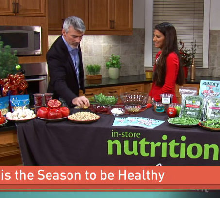 In-store Nutritionist Roxana Ehsani Appeared On Great Day Washington On December 6 For A Live Cooking Segment
