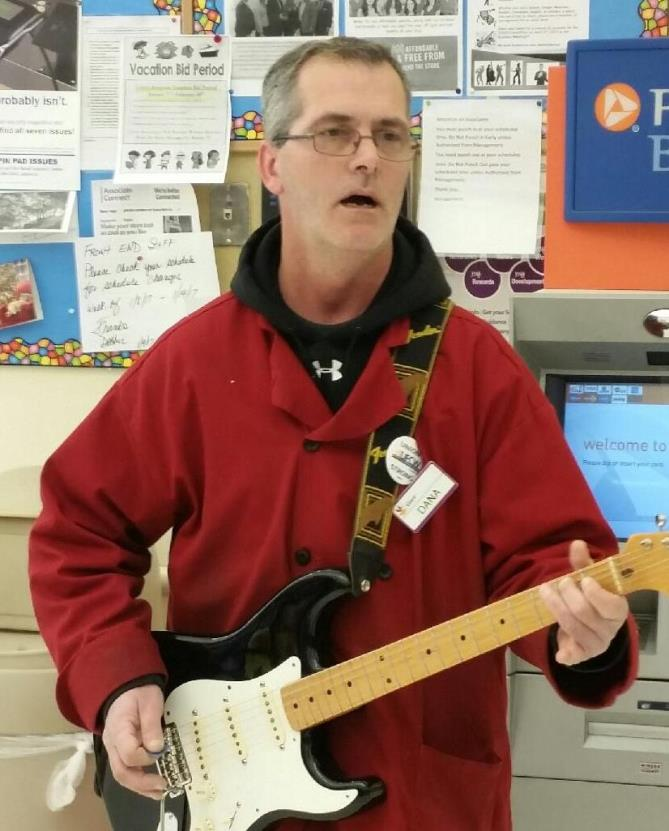 At Giant Store #144 In Baltimore, MD, Dana Dougherty Played And Sang Johnny Cash And Brianna Songs