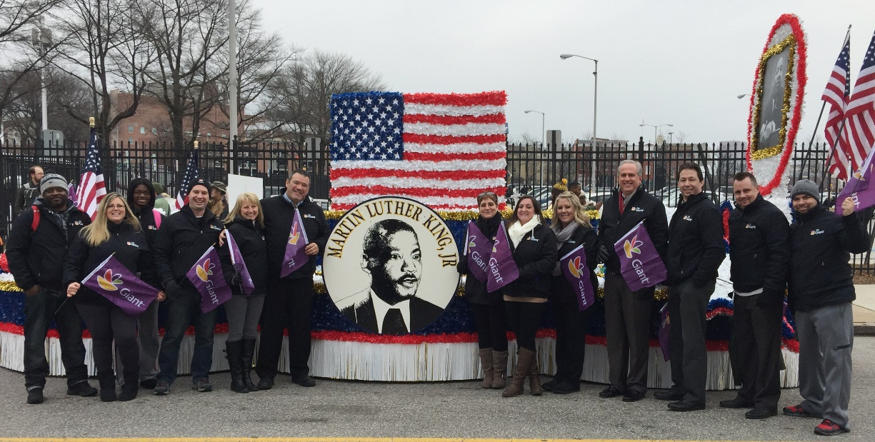 Giant Participated In The 17th Annual Dr. Martin Luther King, Jr. Parade In Baltimore, MD. District 91 Was Represented!