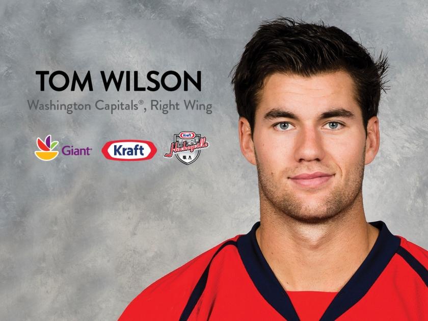 Washington Capitals Player Tom Wilson To Visit Burtonsville, MD, Giant