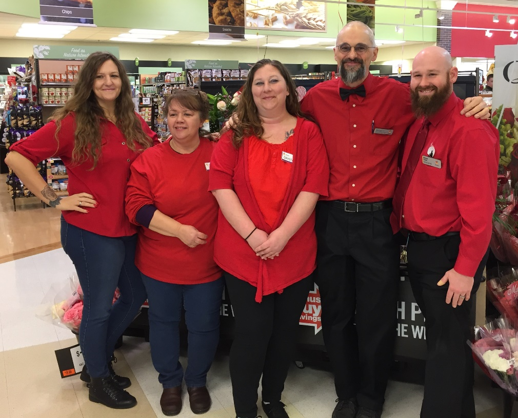 Falmouth, VA, Store #789 Celebrated Valentine's Day