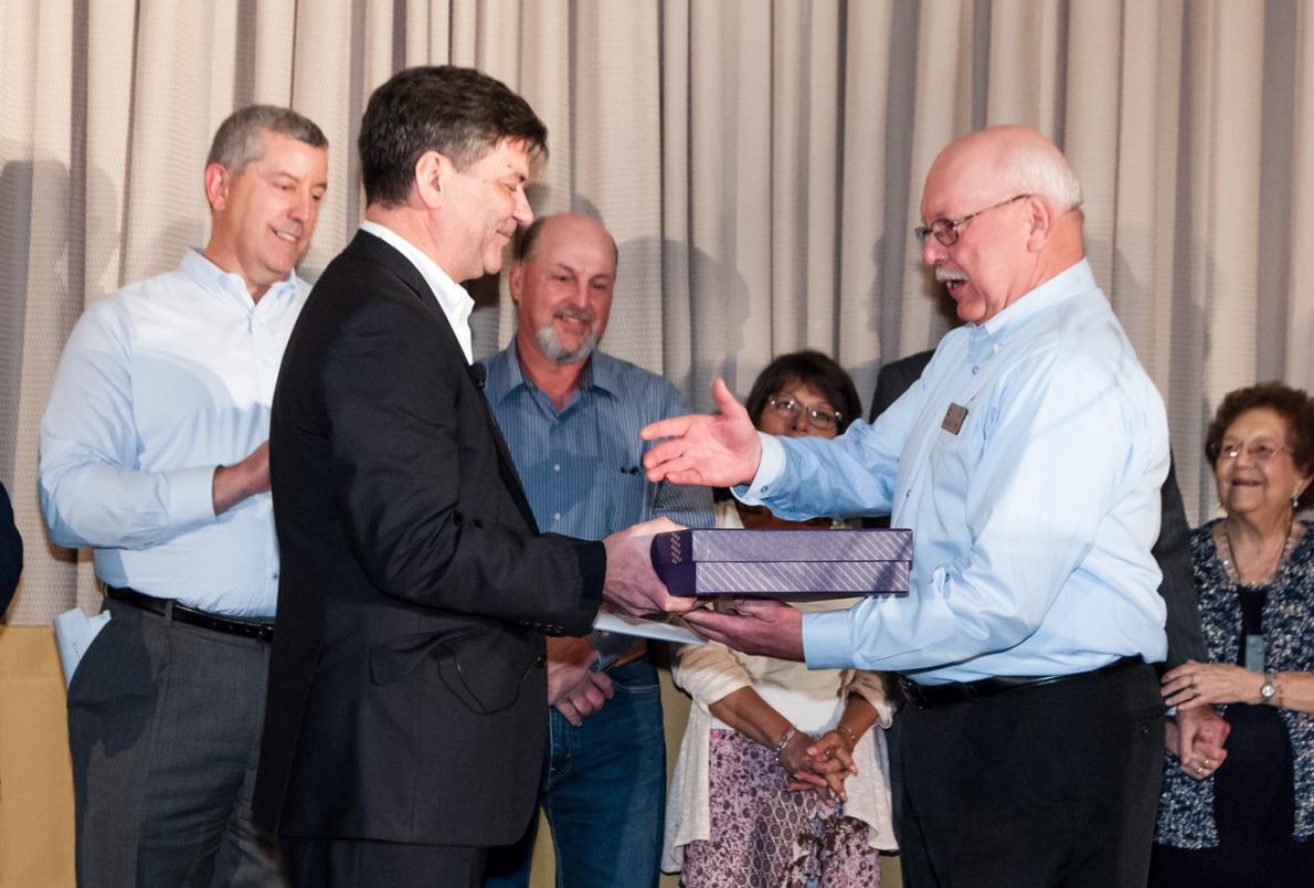 Long-time Associate Grabs Top Honors!