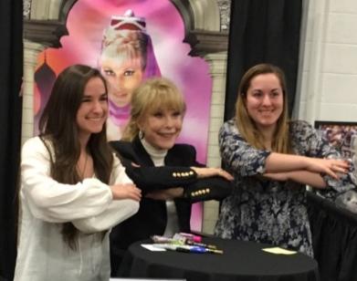 Giant Dreams Of Jeannie By Helping TV Sitcom Star Barbara Eden Celebrate Her Birthday