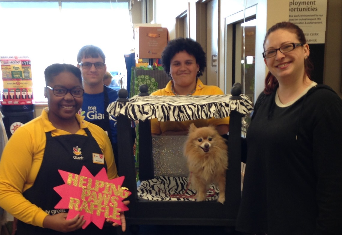 Odenton, MD, Store 2311 Raffled A Pet Bed To Winner Lisa Anderson, Pictured With Associates Sloane, Larry And Autumn