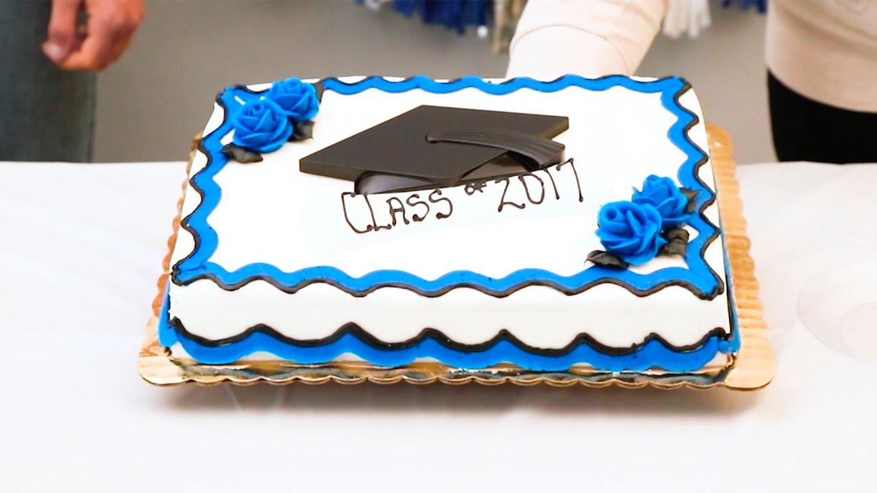 Fresh Stories Graduation Cakes