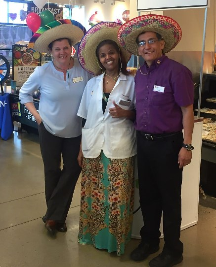 Giant Nutrtionist Min Krishnamurthy Hosted An In-store Cinco De Mayo Event At Store #2742 In Alexandria, VA