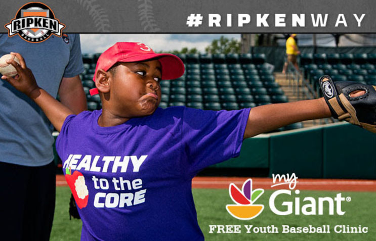 Giant Partners With Ripken Baseball To Help Youth Get Out And Play