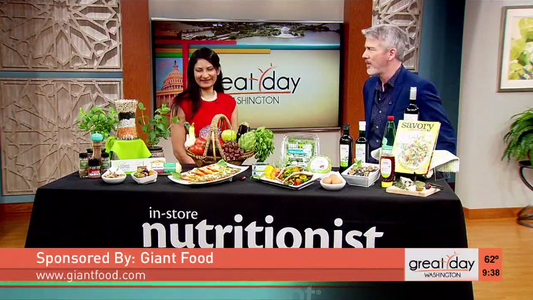 Nutritionist Min Krishnamurthy Shares The Mediterranean Diet With WUSA Channel 9