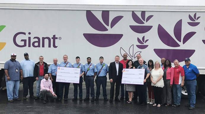 Giant Distribution Drives Fund Raising For First Responders
