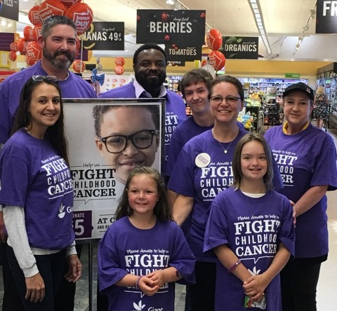 Store #109 In Westminster, MD Hosted The Pediatric Cancer Program Ambassadors Emma & Mary To Raise Funds To Fight Childrens' Cancer