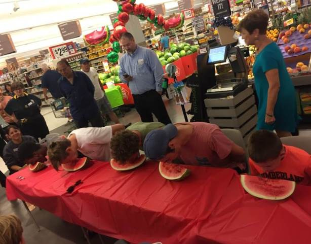 Rehoboth, DE, Giant Celebrates Watermelon Week