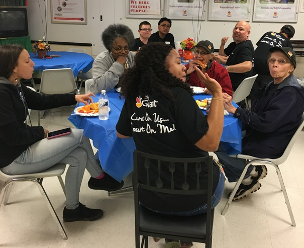 Associate Appreciation Day At The Leesburg, VA, Giant