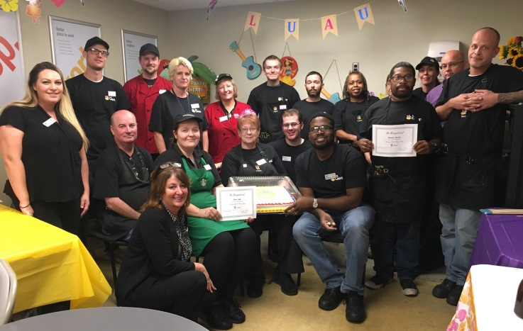 Store 2311 In Odenton, MD Celebrates Associate Appreciation Day And Congratulates Sharon On 40 Years Of Service