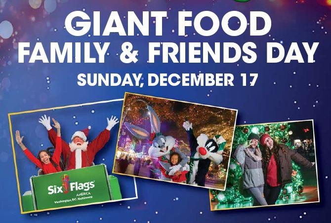 Enjoy The Holiday Spirit At Six Flags With Giant