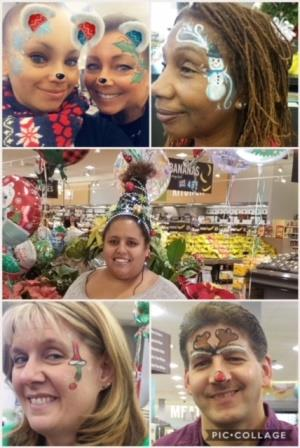 Associates At Store # 798 Get In The Christmas Spirit