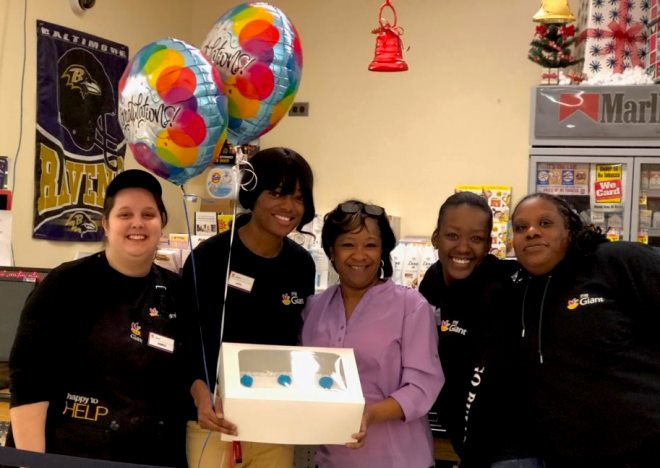 Congratulations To Ashia From Store # 317 For Graduating From The University Of Maryland College!