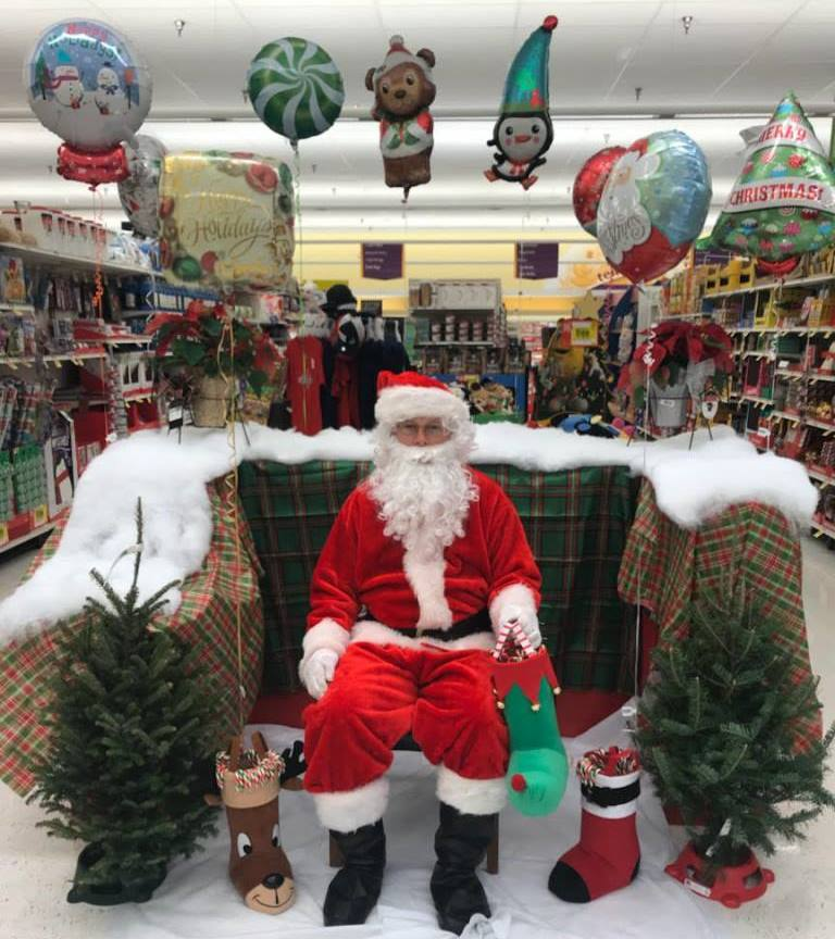 Santa, Played By Anthony, Came To Visit Store #131.