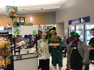 Store #743 Celebrating St.Patrick Day!