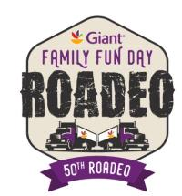 Family Fun Day At The Giant Food Truck Driving Roadeo