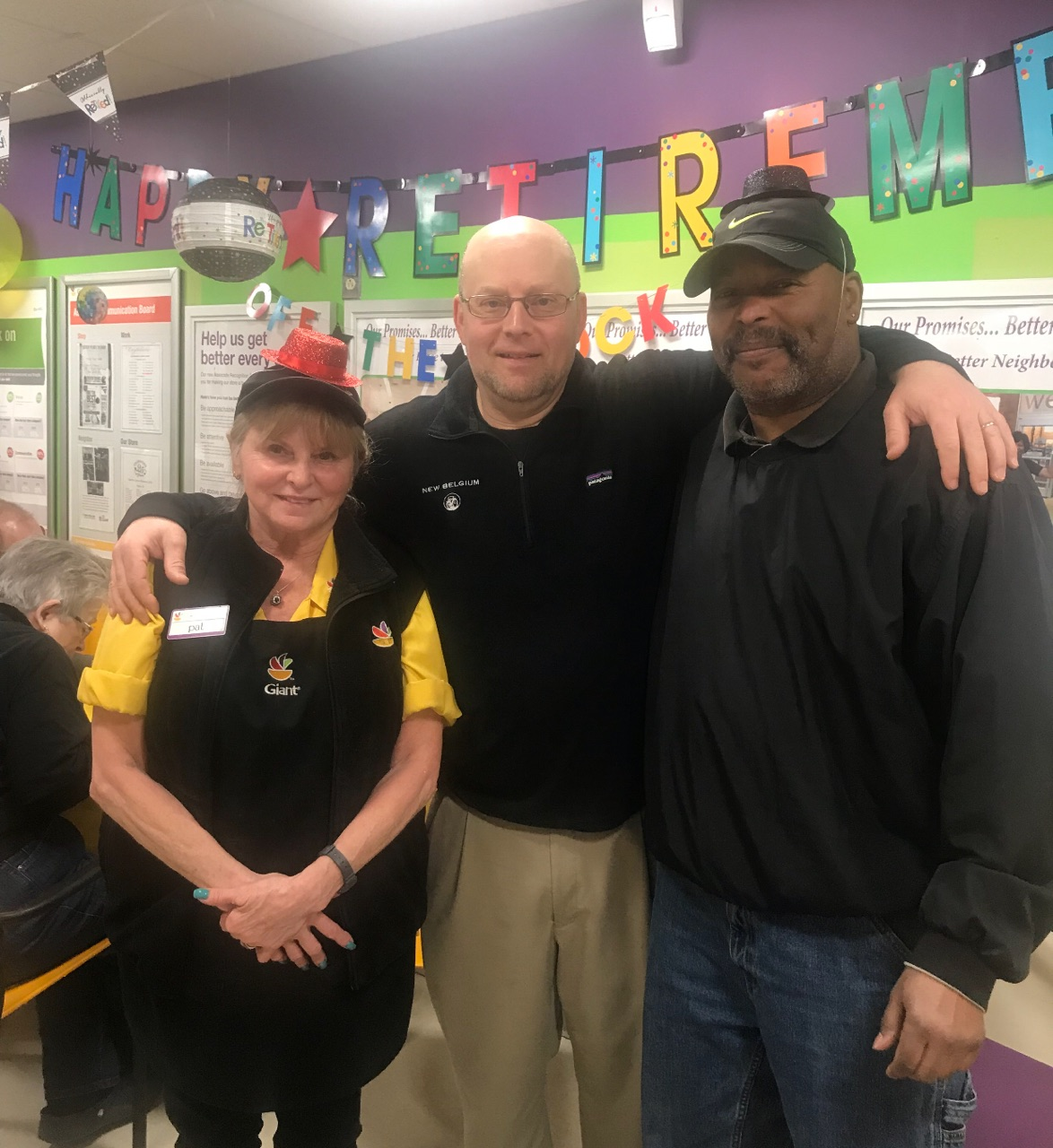 Store 252 Celebrated The Retirement Of Two Associates, Pat Kubic And Aaron Smith. Congratulations!