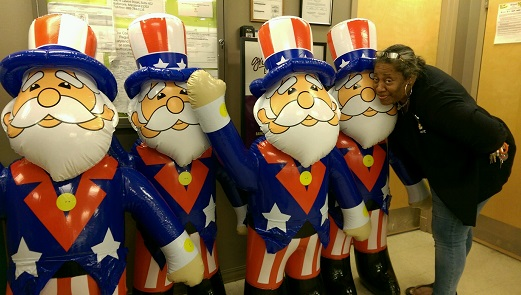 Angela At Store #310 Is Getting Ready For Memorial Day!