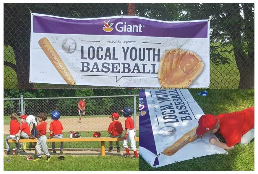 Store # 128 In Lutherville-Timonium Is Being A Better Neighbor By Sponsoring A Local Youth Baseball Team!