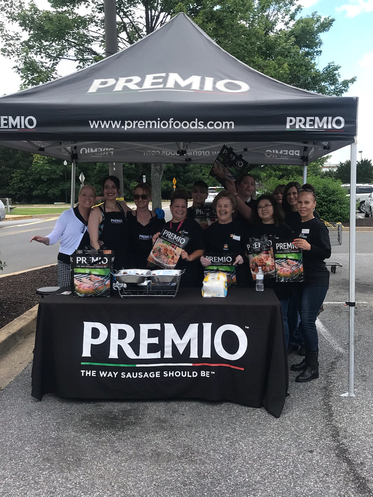 Premio Truck At Store #359 Promoting The Giant Capital BBQ Battle