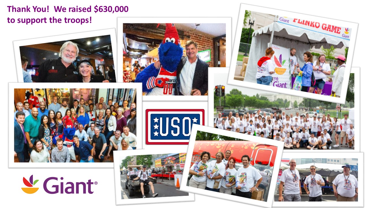 USO Campaign Success: Thank You For Your Support!