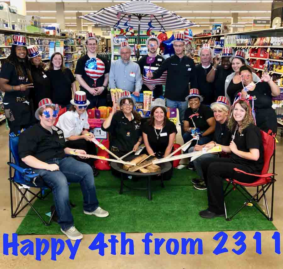 Happy July 4th From Odenton Giant 2311