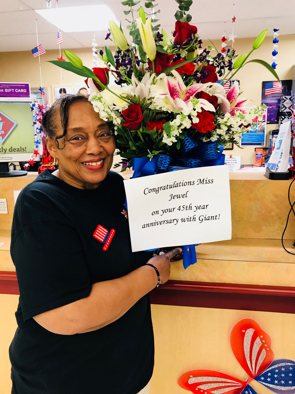 Congratulations Jewelene On 45 Years!