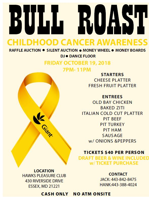 Join Store #144 For A Bull Roast To Fight Childhood Cancer